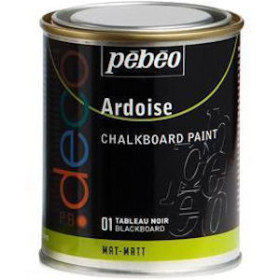 093501 PBO Deco Chalkboard Paint 250ml Black