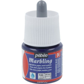 130-004 Marbling Colour 45ml Ultramarine