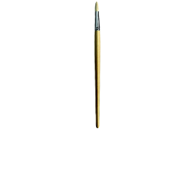 SER11135 Oil Paint Brush Round Silver Fer