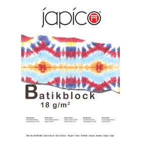 Japico Batik Block 22.5 c 32 cm