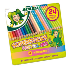 3000-0482 Jolly Supersticks Pastel Mix-24
