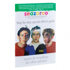Snazaroo Step-by-Step Special Effects Guide 1196090