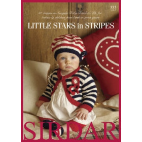 Sirdar Booklet 355: Little Stars in Stripes in Baby Bamboo