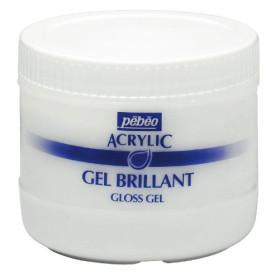 521300 Pebeo Artist Acrylics Gloss Gel 500ml.