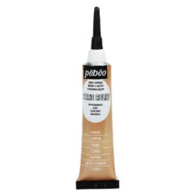 480000 Pebeo Cerne Relief Outliner 20ml Copper