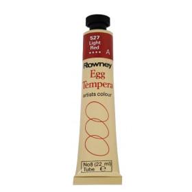 133008 Rowney Egg Tempera Colour 22ml. 527 Light Red