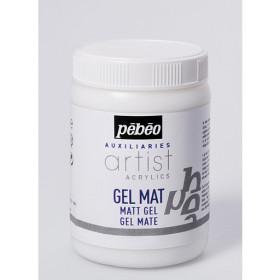 521530 Pebeo Artist Acrylics Matt Gel 250ml.