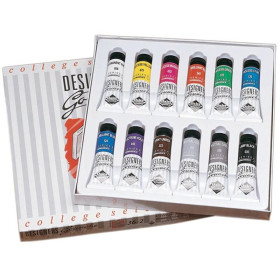 136900002 Daler Rowney Designers Gouache College Selection Set