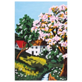 6136 Printed Tapestry Canvas 20 x 30 cm
