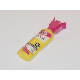 65002 Tulip Slick 3D Fabric Paint Yellow  37ml