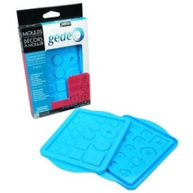 766130 Button Mould 13 X 18.5 cm
