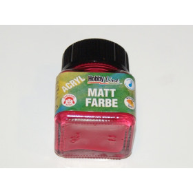 75215 Hobbyline Acrylic Matt Paint Carmine Red 20ml