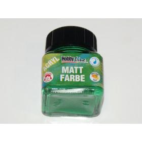 75222 Hobbyline Acrylic Matt Paint Moss Green 20ml