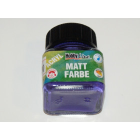 75234 Hobbyline Acrylic Matt Paint Violet 20ml