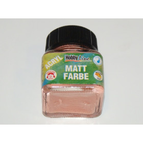 75247 Hobbyline Acrylic Matt Paint Salmon 20ml