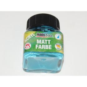 75248 Hobbyline Acrylic Matt Paint Turquoise 20ml