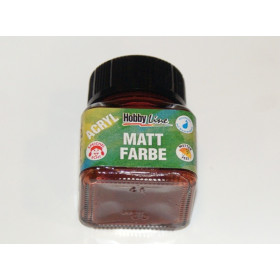 75274 Hobbyline Acrylic Matt Paint Chocolate Brown 20ml