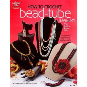 How to Crochet- Bead-tube Jewelry (with getting started DVD)