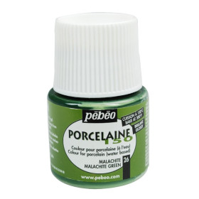 024-026 Pebeo Porcelaine 150 Paint Malachite Green 45ml