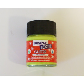 92270 Javana Textile Glitter 50ml May Green