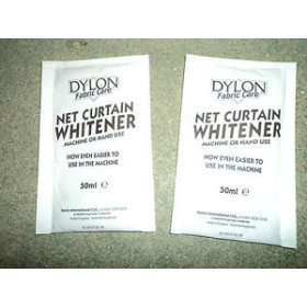 Dylon Net Curtain Whitener 2x50ml.