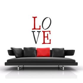 B6014 Brico Stencil XXL W 70 x H 100 cm  Love