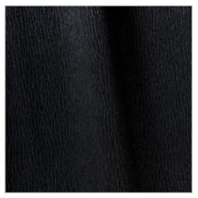 001-429 Single Crepe Paper Black 0.5x2.5M