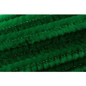 8476446 Chenille Sticks Green