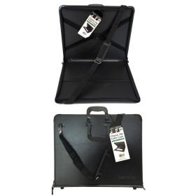 801030300 DR Classic Zip Portfolio Case Black A3