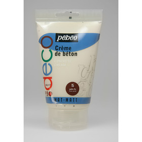 093315 PBO Deco Concrete Cream 110ml Sand