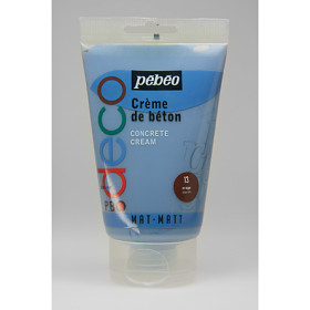 093313 PBO Deco Concrete Cream 110ml Storm