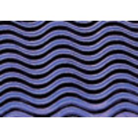 8257353 Corrugated Board Wave Blue 50 x 70 cm