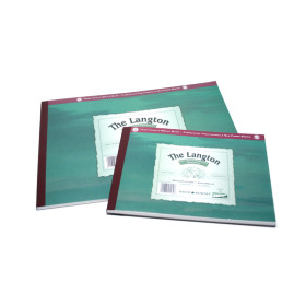 403311400 DR Langton Watercolour Pad 140lb A4 NOT Surface (Cold Pressed)