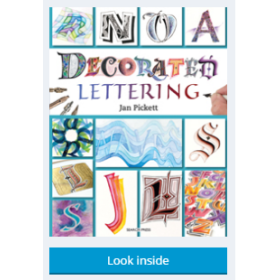 DECORATED LETTERING-JAN PICKETT