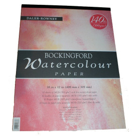 "Watercolour Paper Bockingford 300gsm 16"" X 12"""