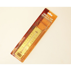 Metal Backed Thermometer
