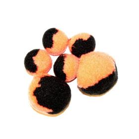 2681261 Pompoms Mix Orange/Black