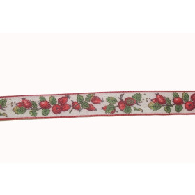 610-18 Ribbon Rosebuds 25 mm / Per metre