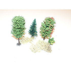 J4A Assorted Trees / Sold per piece  (4 pack)