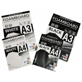 DR FOAM BOARDS 5MM WHITE