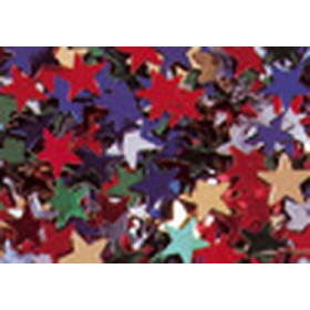 8096996 Glitter Stars Assorted Colours