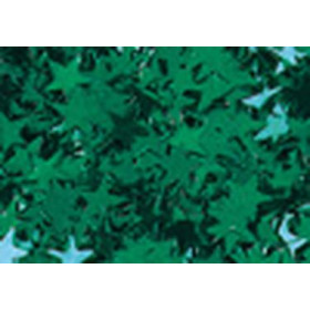 8096449 Glitter Stars Green