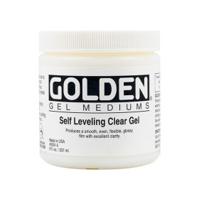 3001-5 Golden Self Leveling Clear Gel 236ml.