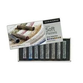 153901008 SOFT ROUND PASTEL SET 8 -GREY SELECTION