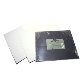 "301401410 Daler Langton Watercolour Boards 14"" x 10"""
