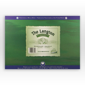 401503022 Langton Watercolour Paper Block 30 x 22""