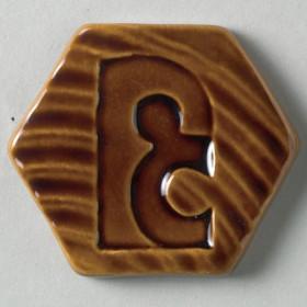P0004 Brush-On Glaze Burnt Sugar Semi-Trans 500ml