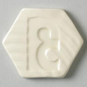 P0017 Brush-On Glaze Ivory Semi-Trans 500ml