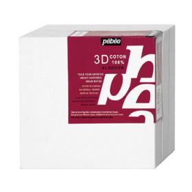 7825 Pebeo 3D White Cotton Canvas