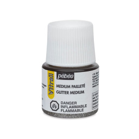 051001 Pebeo Vitrail Glitter Medium 45ml
